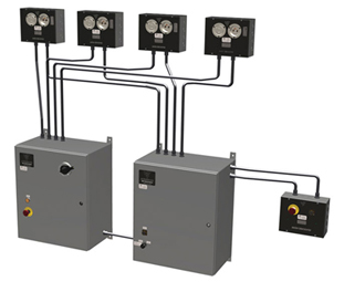 Permanent Installation Chain Hoist Controller Diagram
