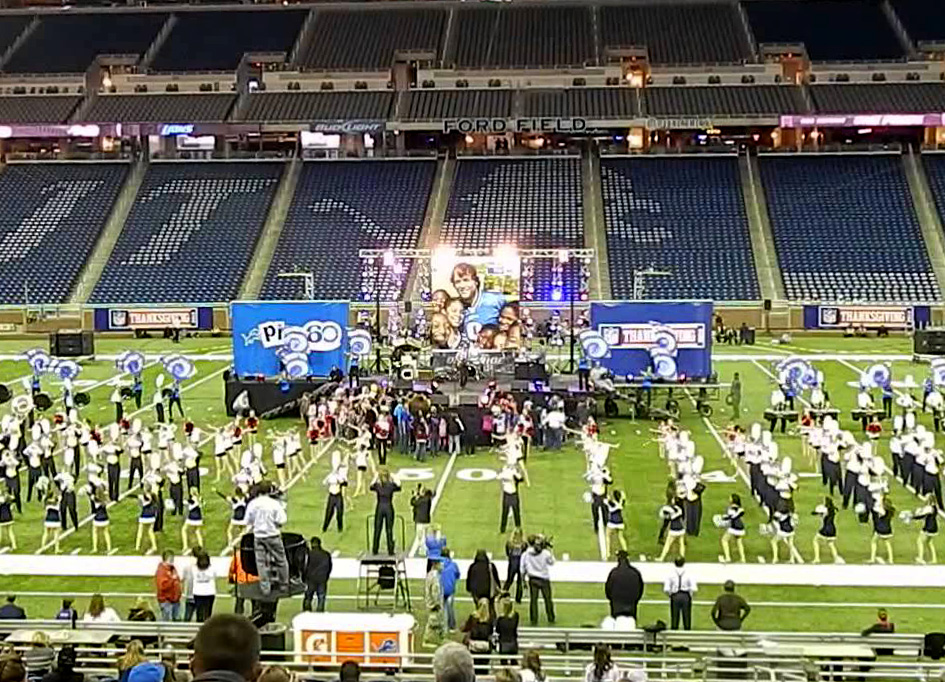 Ford Field, MI / Thanksgiving NFL Halftime Show