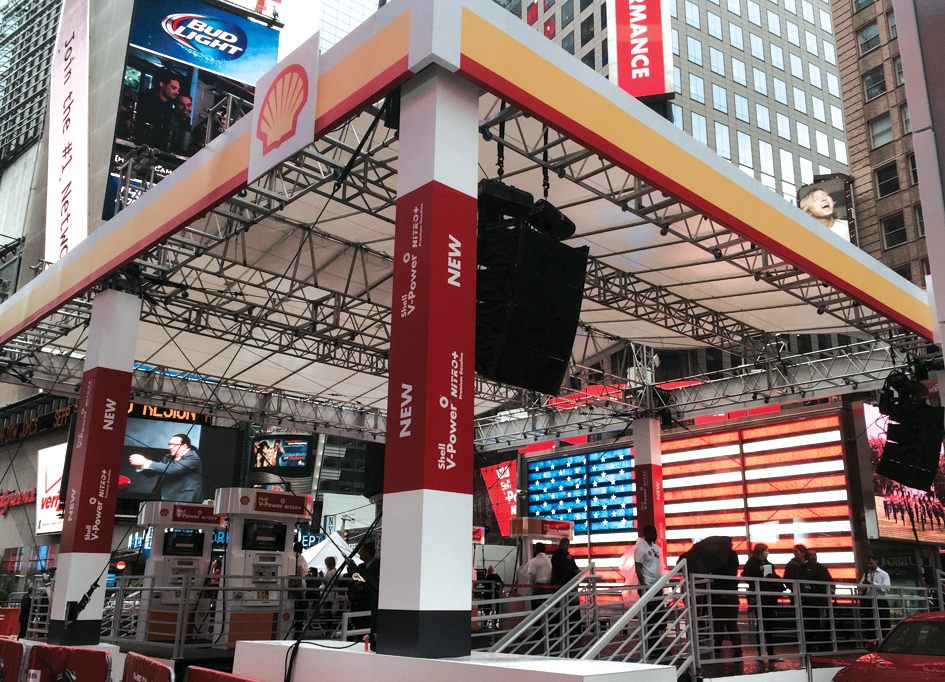 Times Square, NY / Shell Promo Event