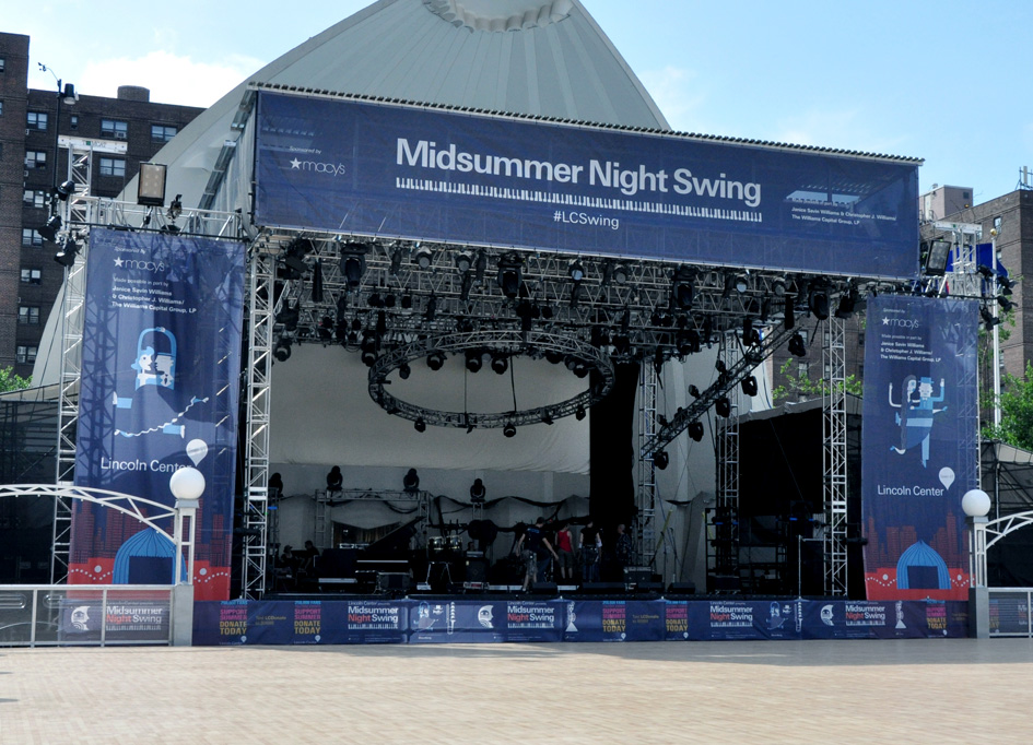 Lincoln Center, NY / Midsummer Night Swing