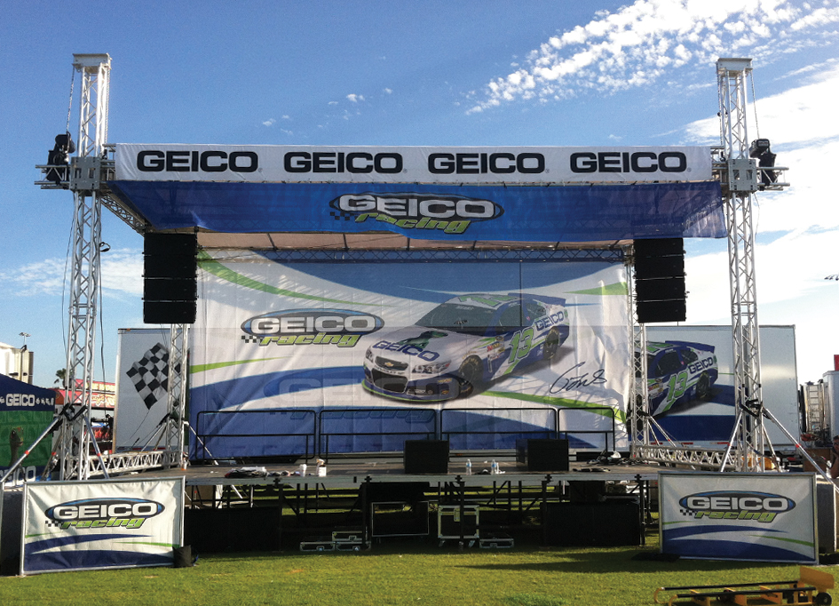 Geico Traveling Interactive Exhibit