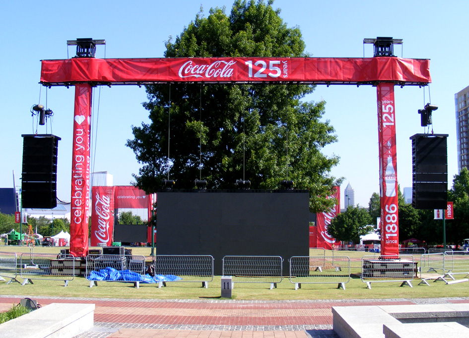 Atlanta, GA / Coca Cola 125th Anniversary