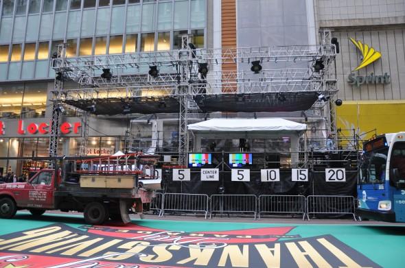 Front view of NBC Host Platform