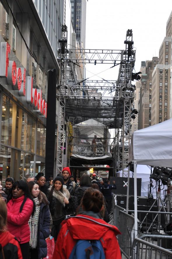 Side View of NBC Platform