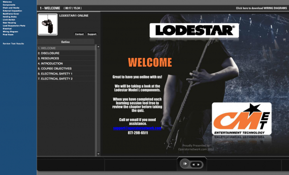 Convenient online access to the proven and trusted CM Lodestar Training class