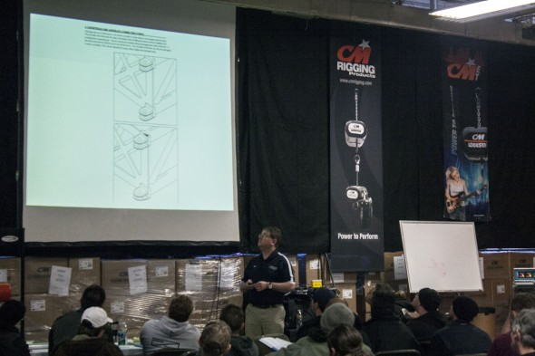 A seminar on truss management – taught by Trey Allen from James Thomas Engineering