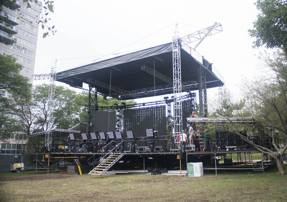 Mountain Productions' SAM-550 – Made in America Freedom Stage