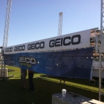 Raising the roof on the GEICO structure