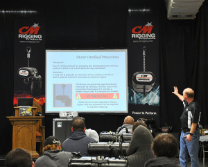 Motor class with CM's Dave Carmack