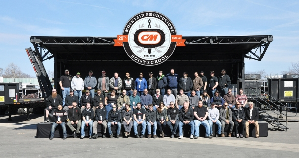 The 2014 CM Hoist School Class