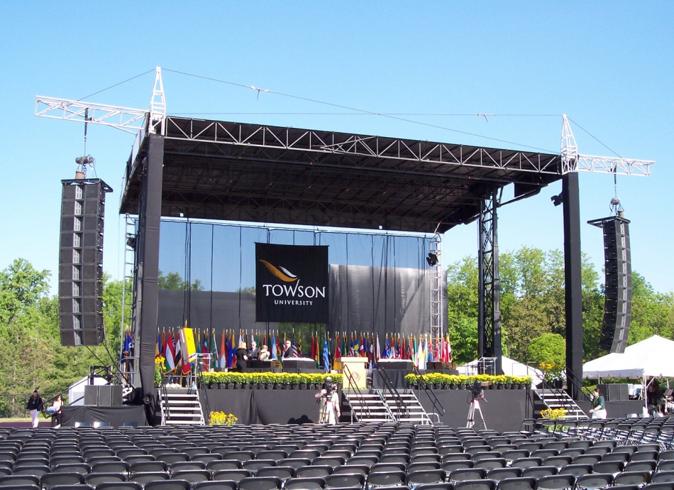 Towson University – SAM 550 Mobile Stage