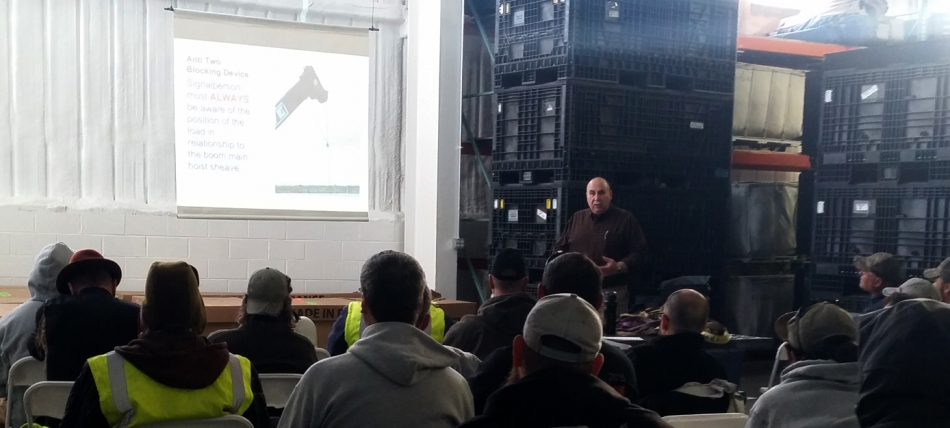Mountain Productions' Safety Training 2015 - CTS LLC