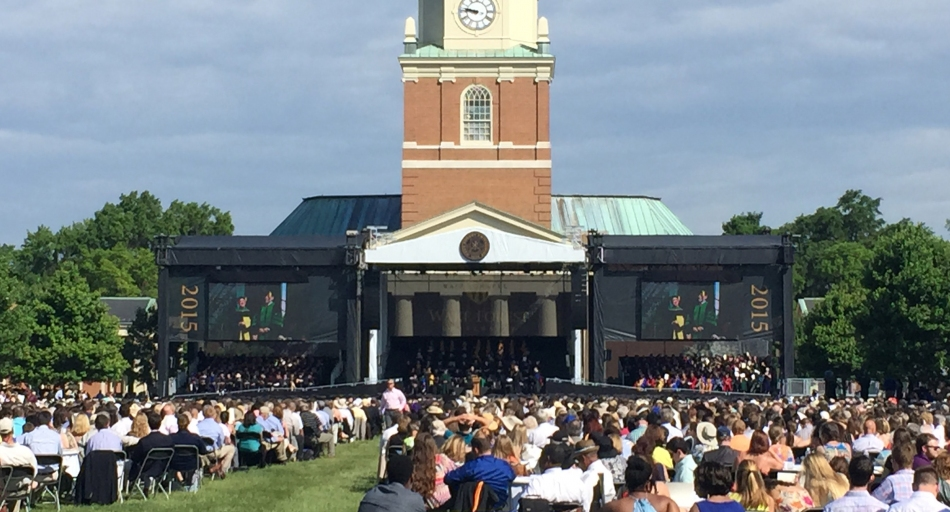Wake Forest Commencement