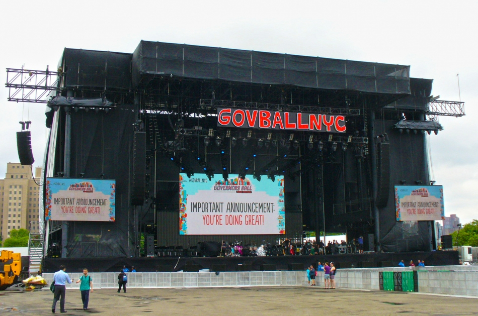The Mountain Truss system at Governor's Ball