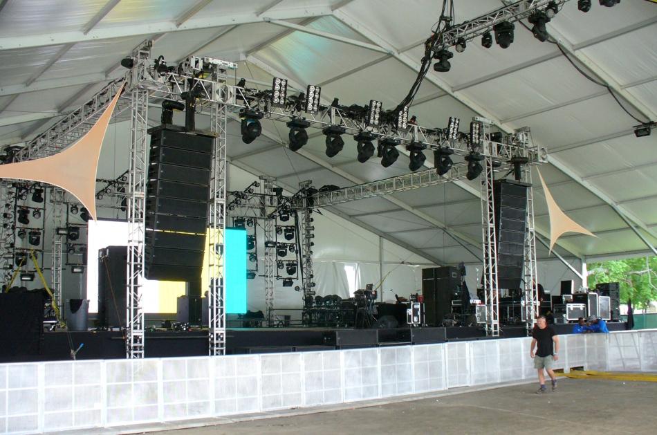 Gotham Tent stage