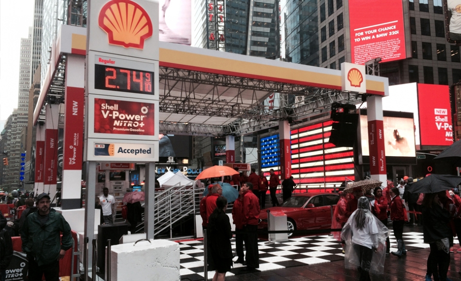 Truss Tower Stage for Shell Event