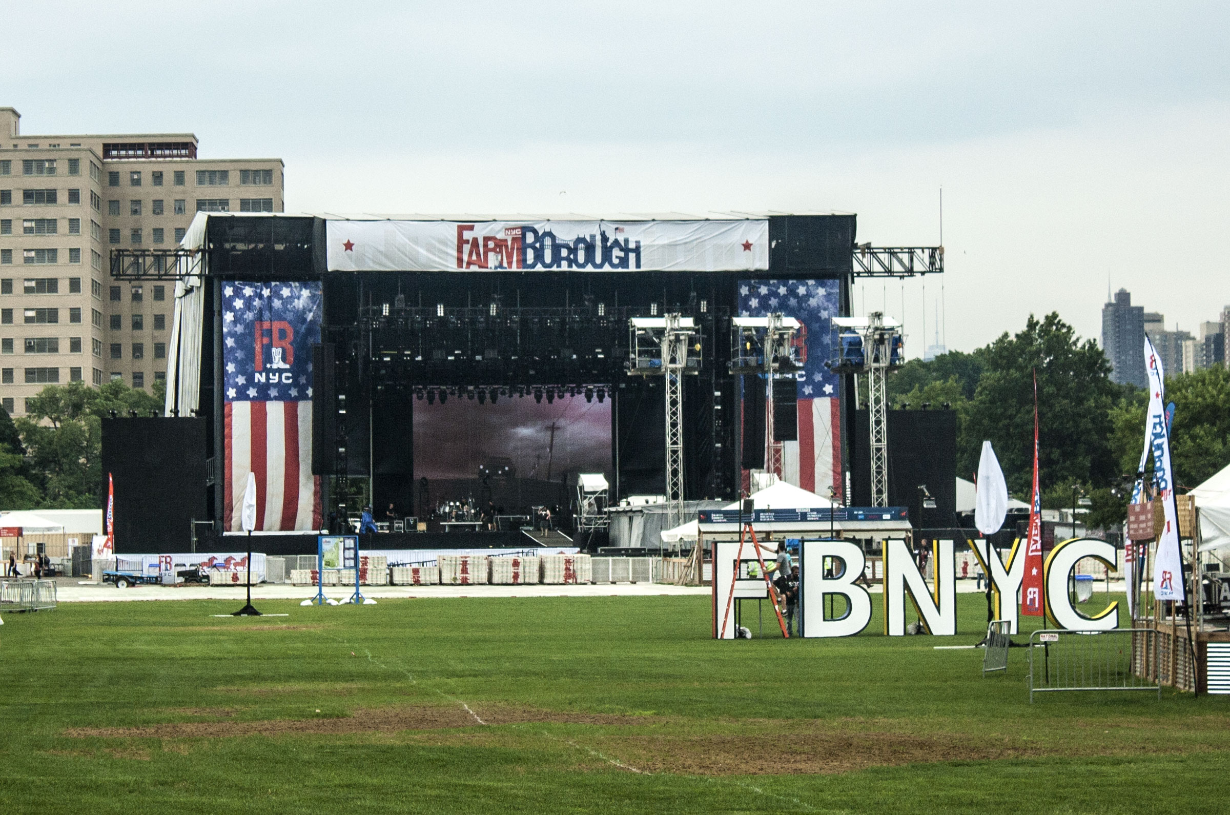Another view of Main Stage