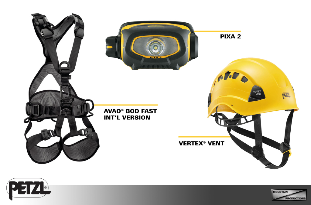 3 of our featured Petzl products