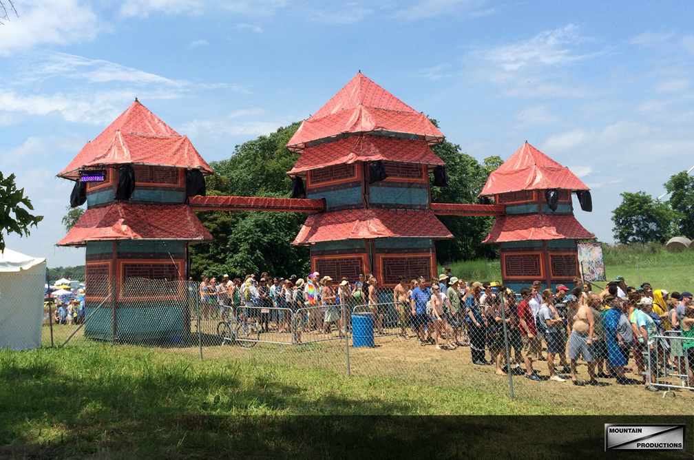 All Good Festival / Scaffold Tower Entranceway
