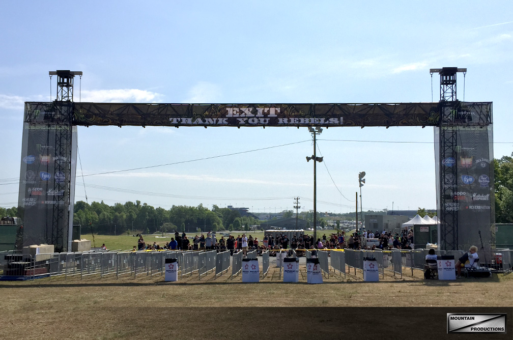 Carolina Rebellion / Truss Tower Entranceway