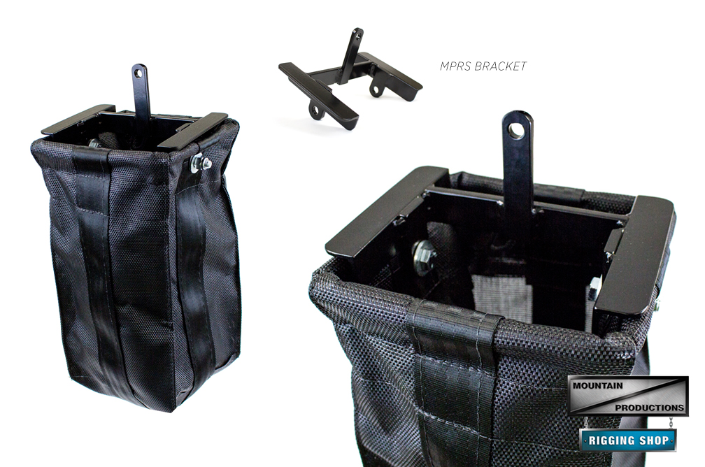 The Rigid Style Chain Bag is our solution for a permanent chain bag that is  only usable in motor up position (common in trussing and roof grids). 4edc566c15593