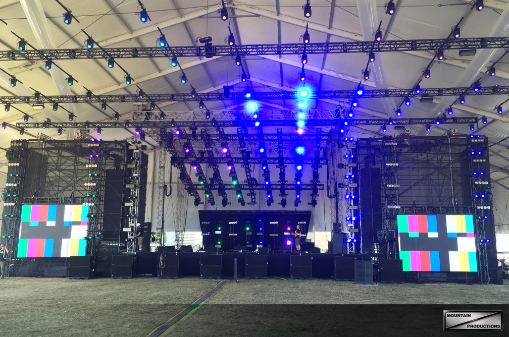 WayHome Truss Grid Stage
