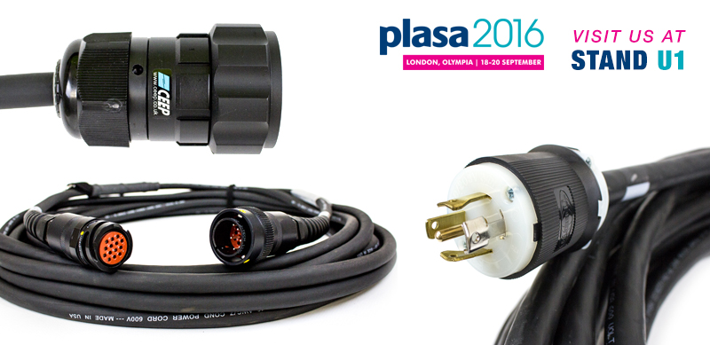 MTN Cables at PLASA 2016 London Stand U1