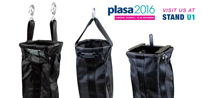 MTN Chain Bags at PLASA 2016 London Stand U1