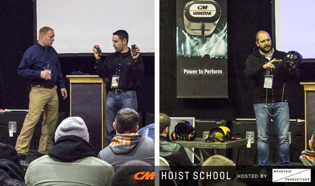 CM Hoist School - Leica & KASK Product Demos