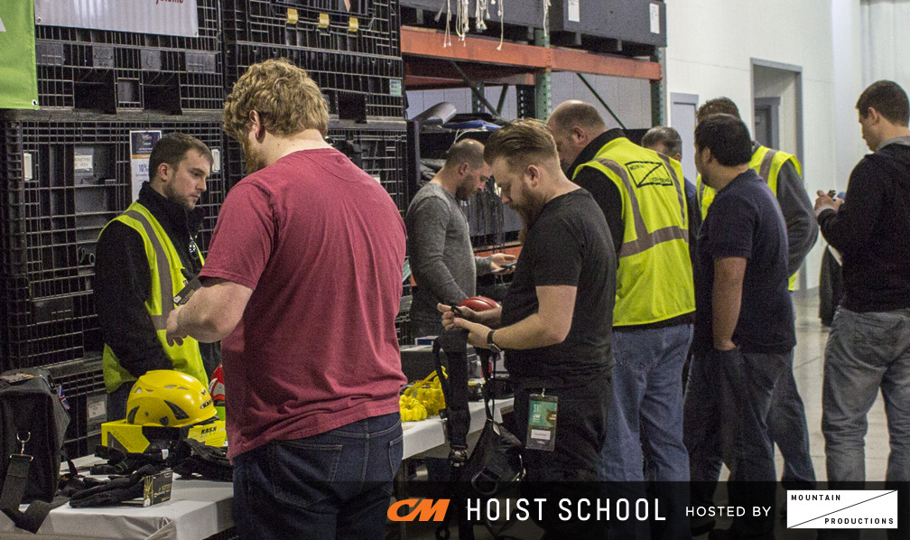 CM Hoist School - Exclusive On-Site Product Discounts from Mountain Productions Rigging Shop